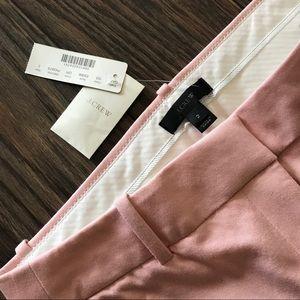 J.Crew Teddie Pants Dusty Pink Size2